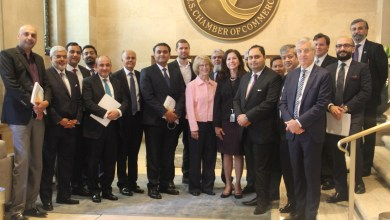 Pakistan delegation as part of the Pakistan Investment Conference 2018 visits the US Chamber of Commerce to mutually collaborate and significantly strengthen the existing bilateral economic ties.