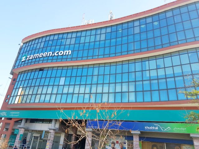 Daily the azb zameen.com opens major new office in blue area