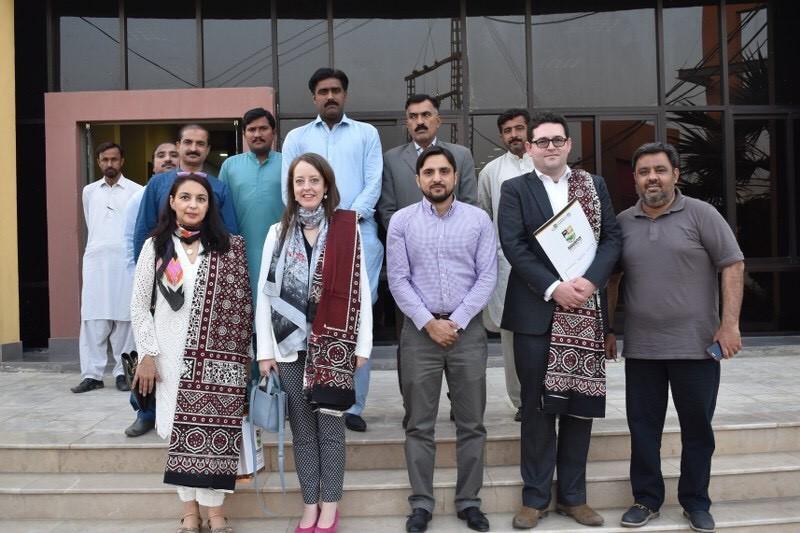 British Deputy High Commissioner Elin Burns Visits Sukkur and Khairpur