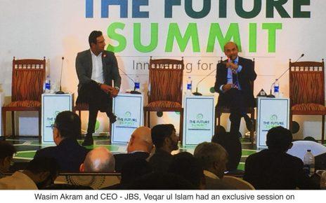 Management through Cricket - JBS and Wasim Akram