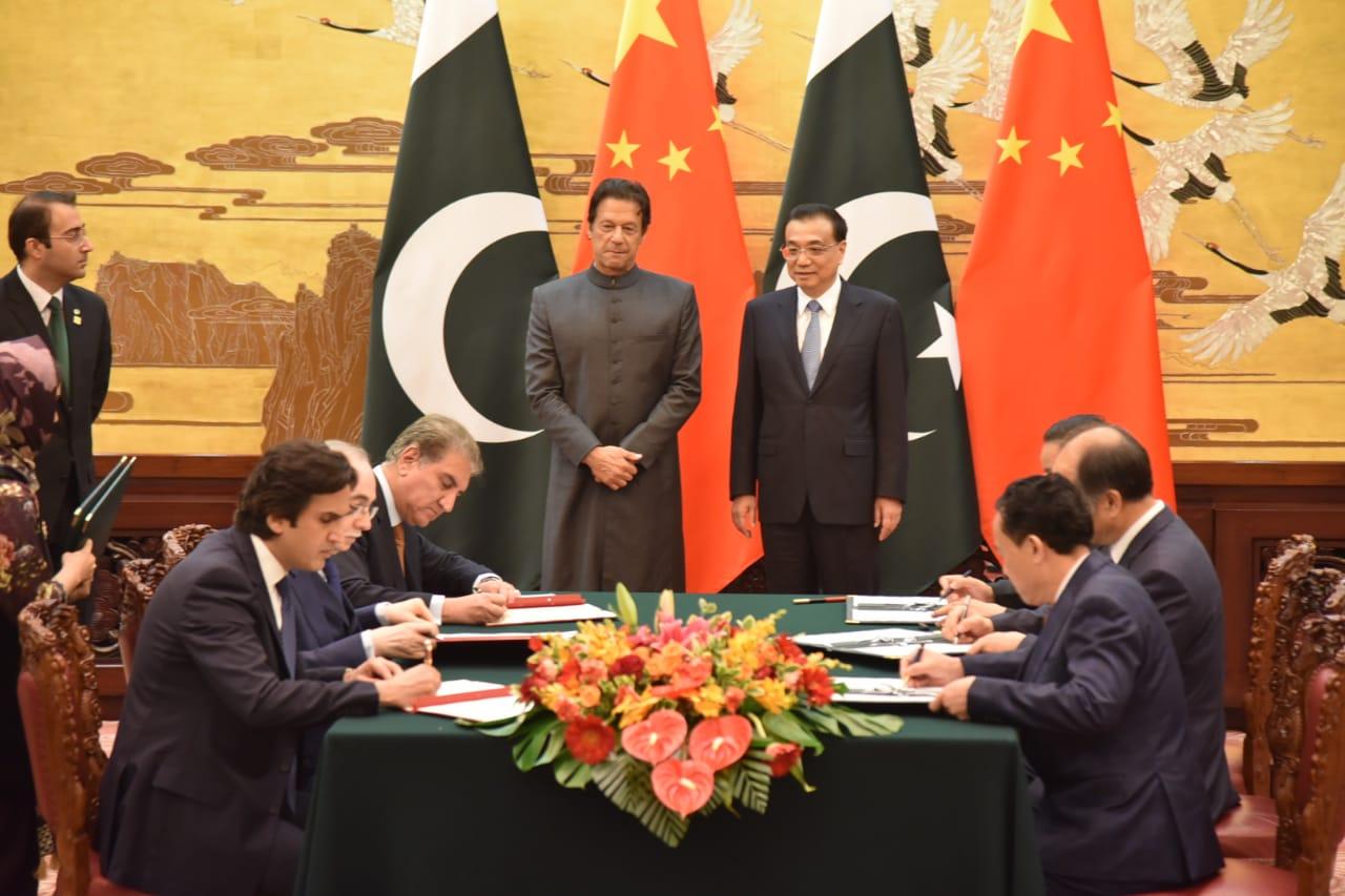 PM Imran Khan in China