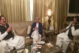 PMLQ asks Tareen to control Governor Punjab