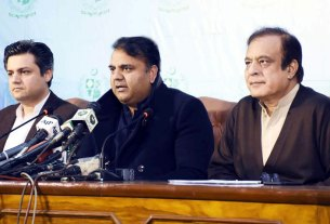 Minister for Information and Broadcasting Chaudhry Fawad