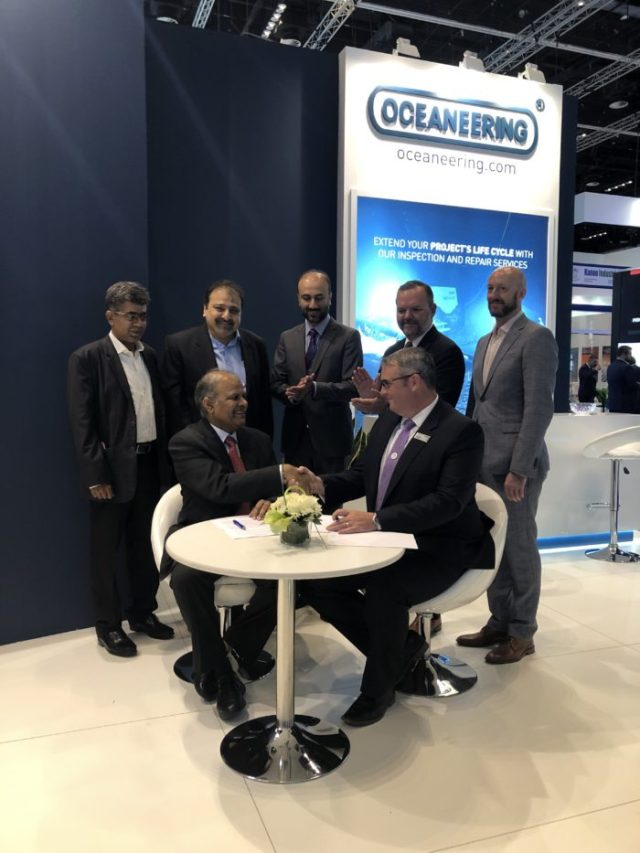 Oceaneering Enters Strategic Agreement to Grow Asset Integrity Capability in Pakistan