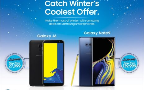 Samsung Pakistan Introduces Exclusive Winter Offer for its Galaxy Smartphones