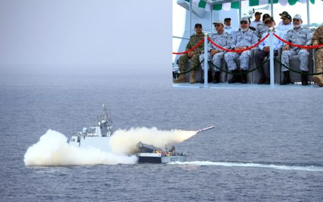 Pakistan Navy Successfully Test Fires Indigenous Cruise Missile