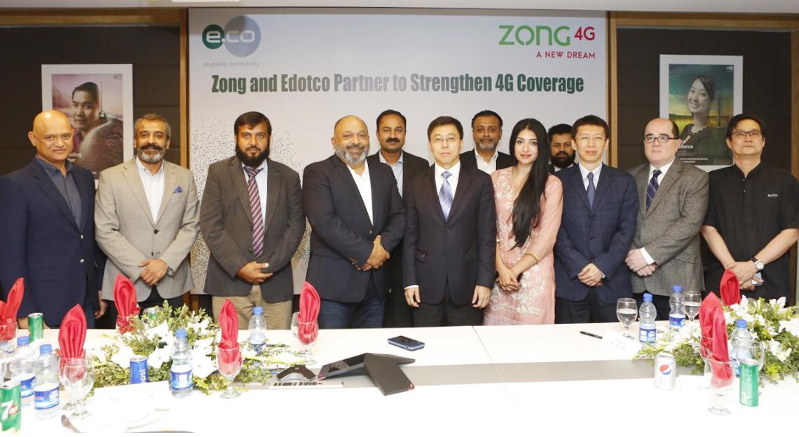 Edotco and Zong 4G