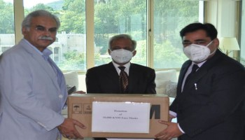 ICI Pakistan and AstraZeneca Donate 10,000 KN95 Masks to NHSRC for COVID-19.