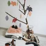 5 идей осеннего декора бумажными листьями