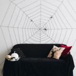 Как сделать паука и паутину своими руками
