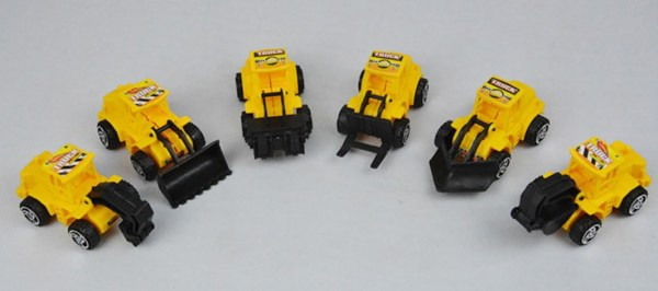 Plastic Cars/Trucks JCB Children/Kids