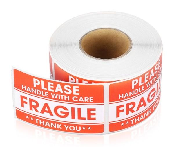 Fragile Sticker Main