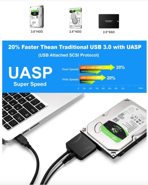 USB to Sata Adapter UASP