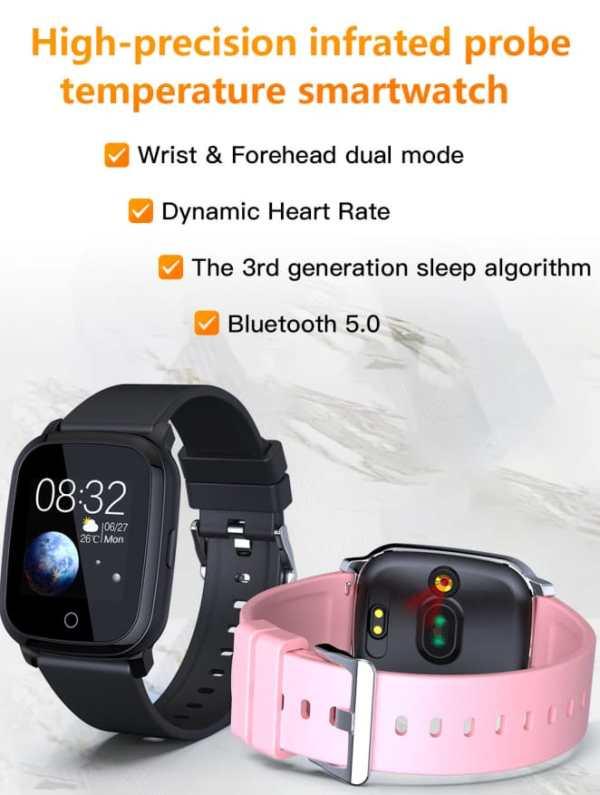 Temperature Smart Watch