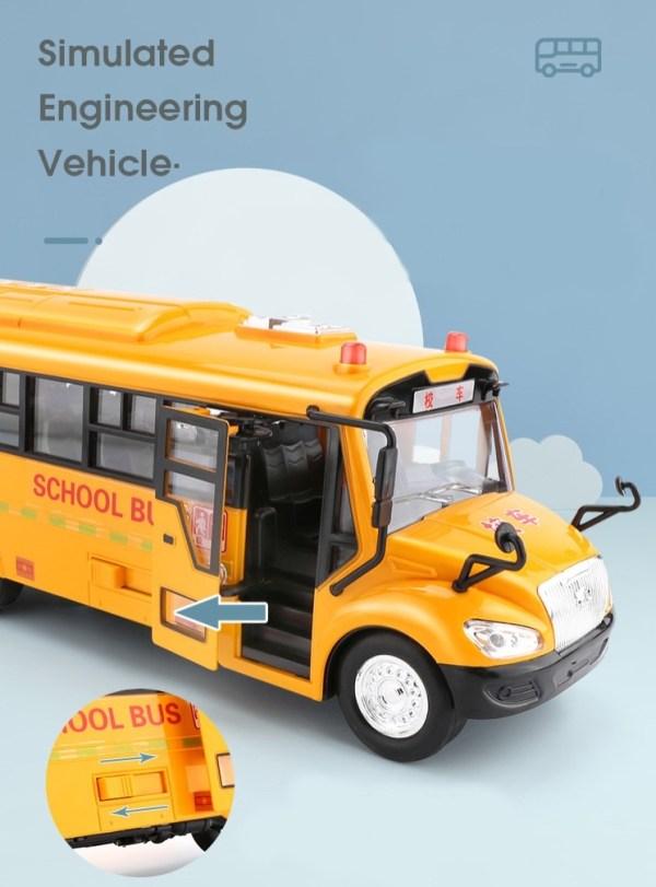 Campus/Kindergarten Shuttle Bus Toys
