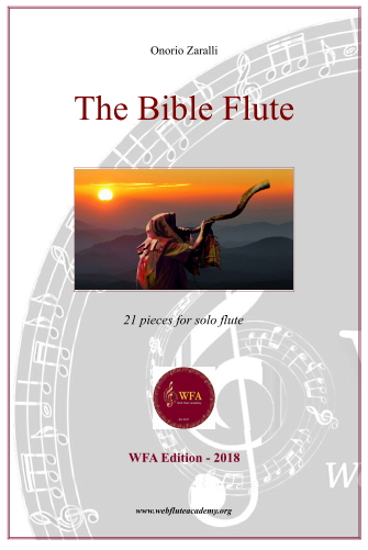 The Bible Flute by Onorio Zaralli