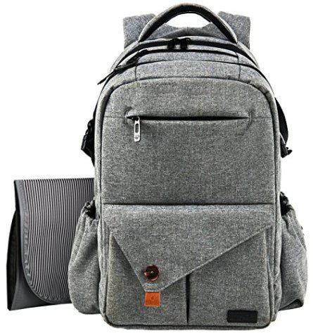 0409c3e0adfca Hap Tim have a fantastic diaper backpack bag available that comes with stroller  straps. Made with a high-quality nylon garment fabric and non-fraying ...