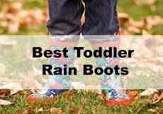 Top 5 Best Toddler Rain Boots