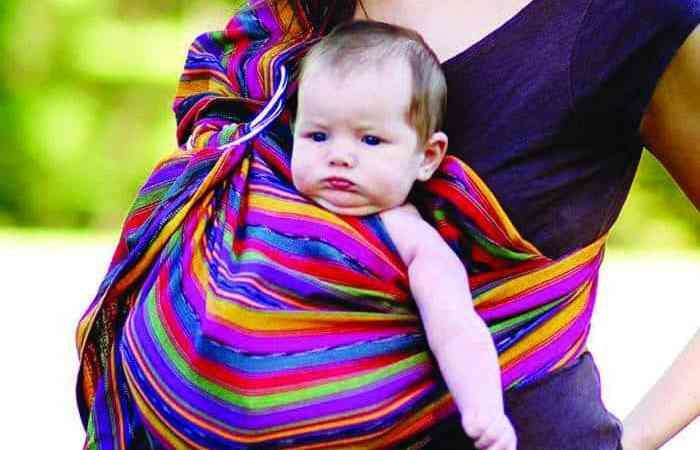 Maya Baby Wrap Review