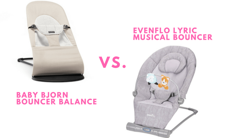 e8d4d1ff564 The Baby Bjorn Bouncer Balance Soft vs. The Evenflo Lyric Musical Bouncer