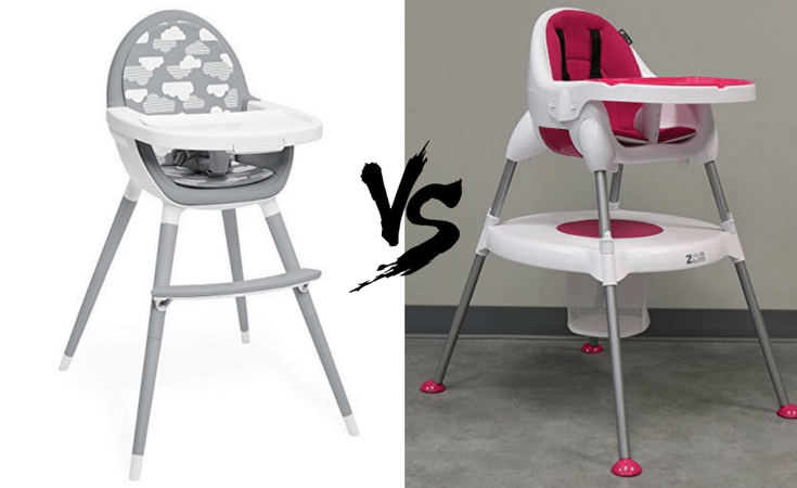 8e5a832bb8a4 Skip Hop Tuo Convertible High Chair vs. ZOE 5-In-1 High Chair - The ...
