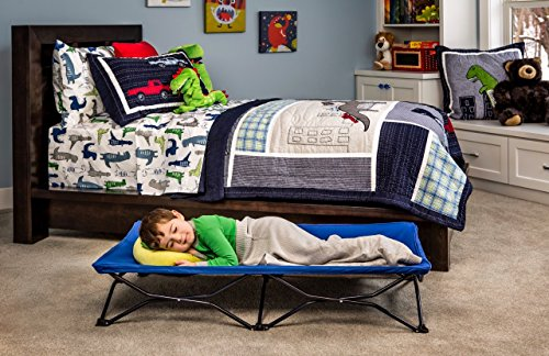 the latest faa26 9a74d The Full Regalo My Cot Portable Toddler Bed Review - The ...