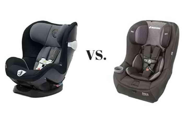 Cybex Sirona M SensorSafe 2.0 vs. Maxi-Cosi Pria 70 Convertible Car Seat