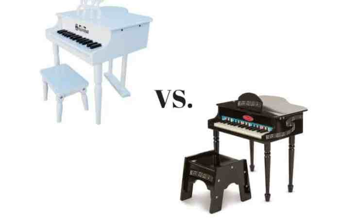 Schoenhut vs. Melissa & Doug Piano