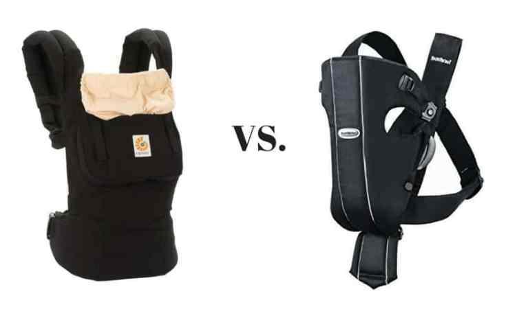 Ergobaby Carrier vs. Baby Bjorn