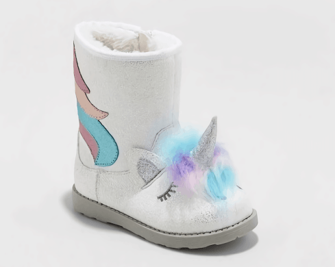 "Cat & Jack Unicorn ""Chiara"" Boots"