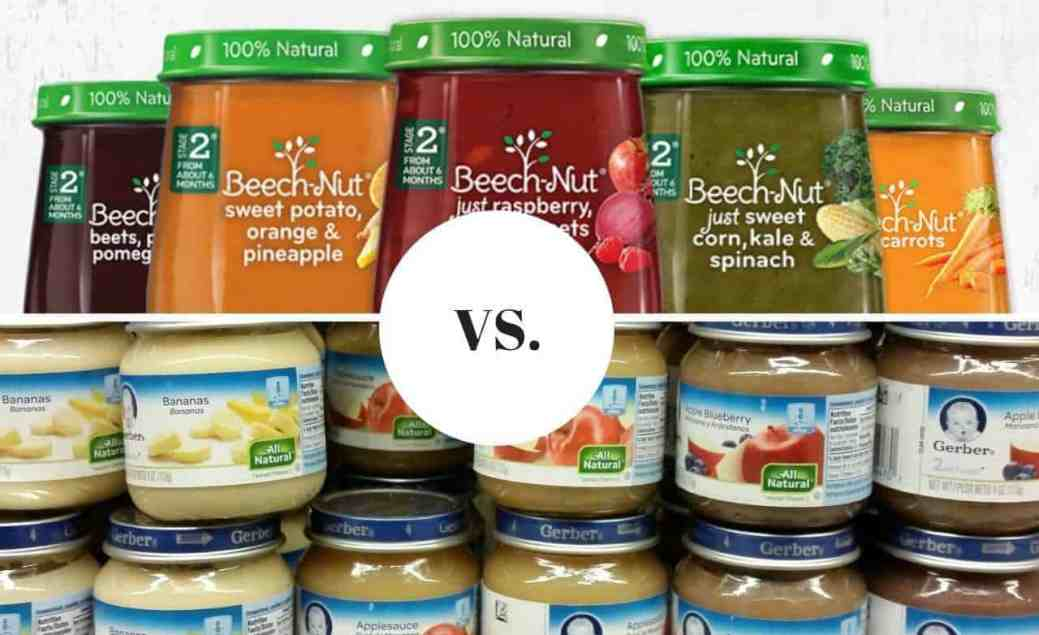 Beech Nut Vs Gerber Baby Food Which Is The Best For 2019 The
