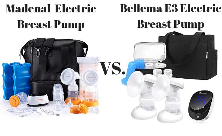 Madenal Electric Breast Pump vs. Bellema E3 Electric Breast Pump