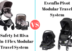 Safety 1st Riva vs evenflo pivot travel system