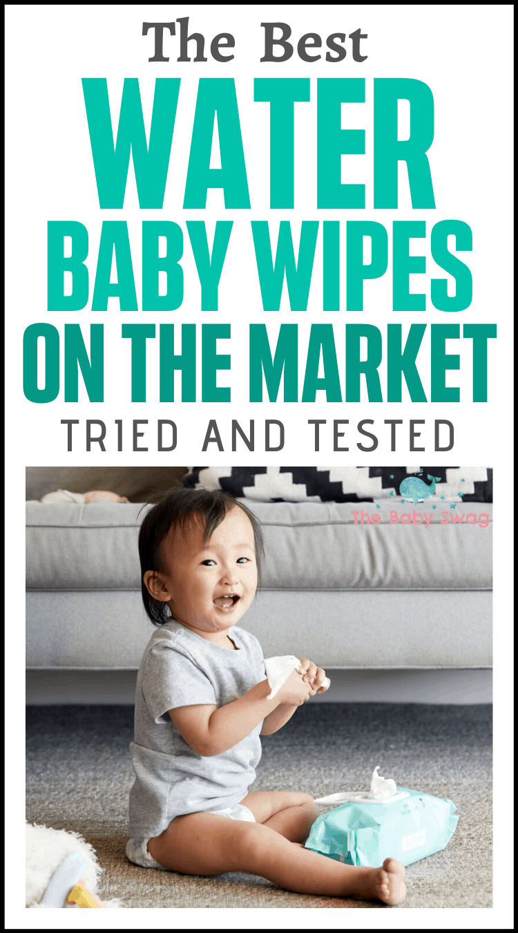 The Best Water Baby Wipes On The Market - Tried and Tested