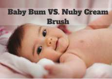Baby Bum VS. NubyBrush
