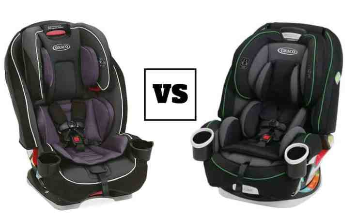 graco slimfit vs graco 4ever