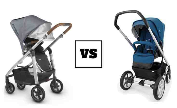 nuna mixx vs uppa baby