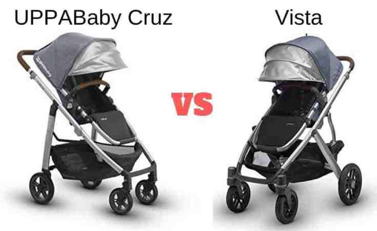 uppababy cruz vs vista