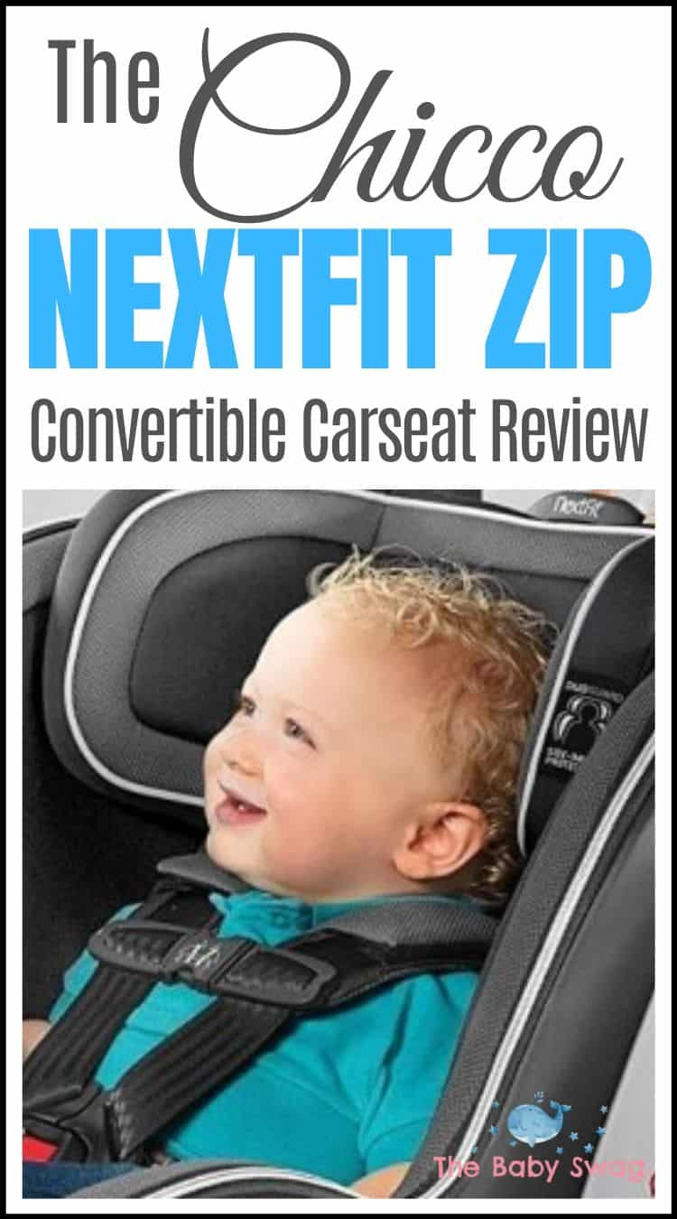 The Chicco NextFit Zip Convertible Carseat Review