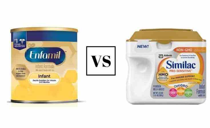enfamil vs similac