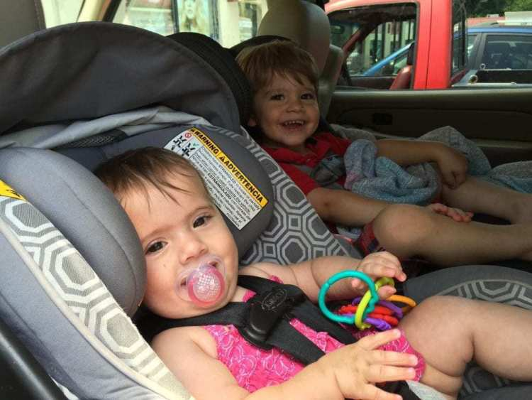 babies in car seats