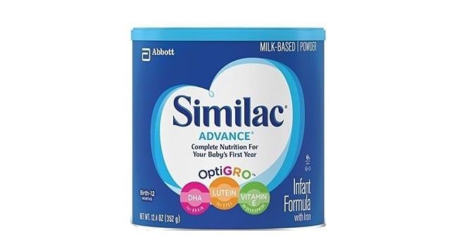 similac advance formula