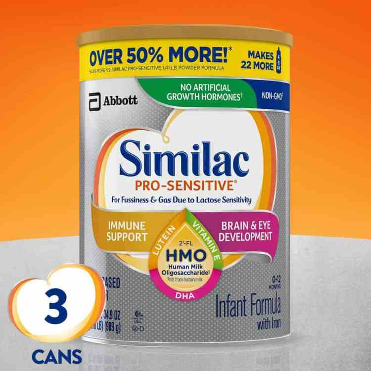 OUR TOP CHOICE: Similac Pro Sensitive