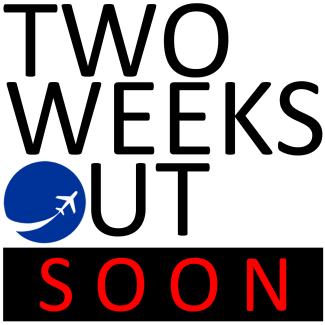 TWO WEEKS OUT LOGO TEASER