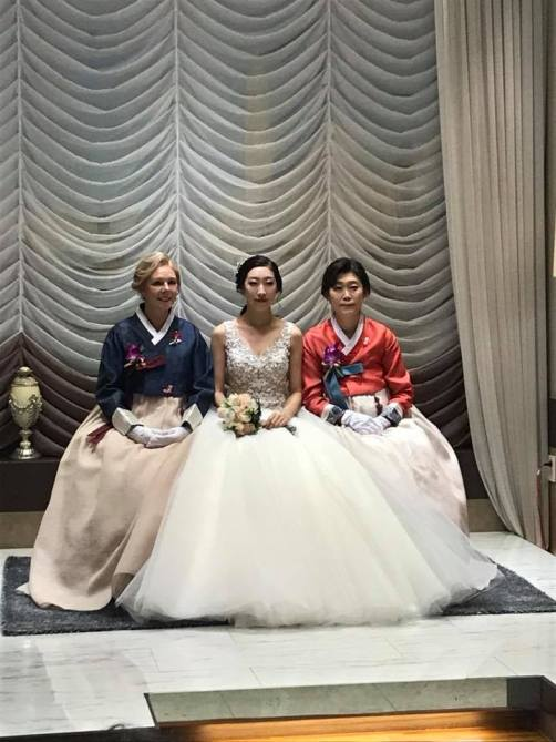 Wearing The Traditional Korean Hanbok At A Very Special Wedding