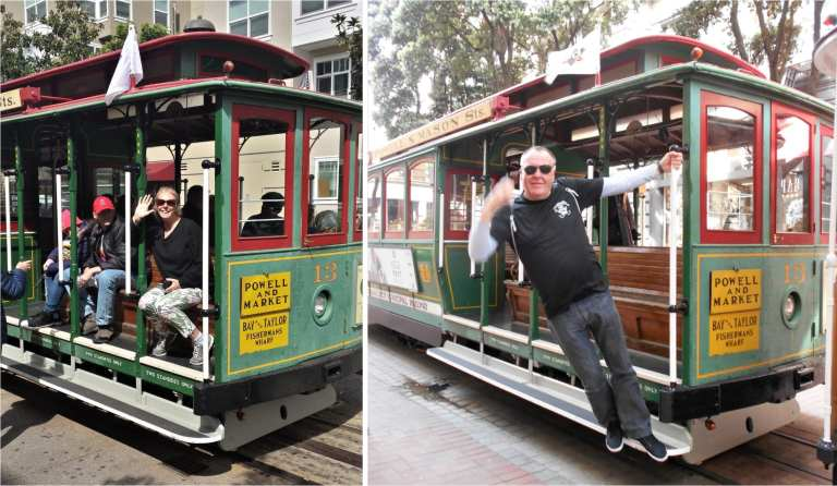 The Backpacking Housewife Cable Cars San Fran