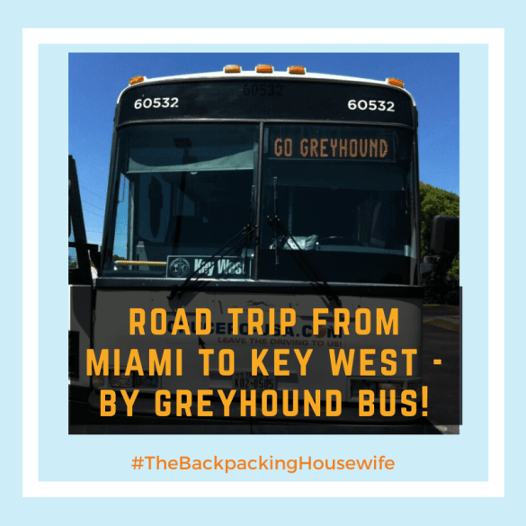 Road Trip by Greyhound Bus