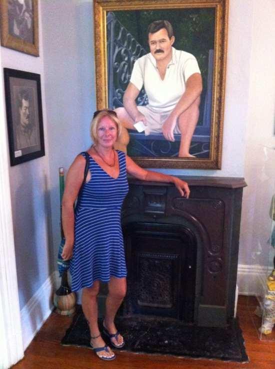 The Backpacking Housewife Hemingway House Key West