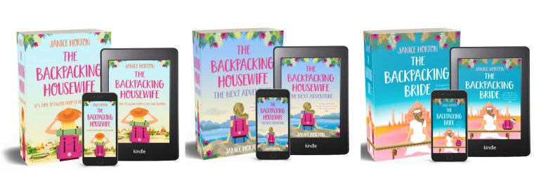 The Backpacking Housewife Books