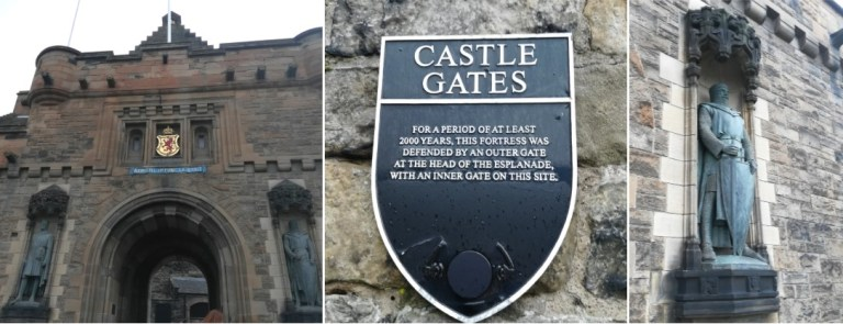 Edinburgh Castle Gates
